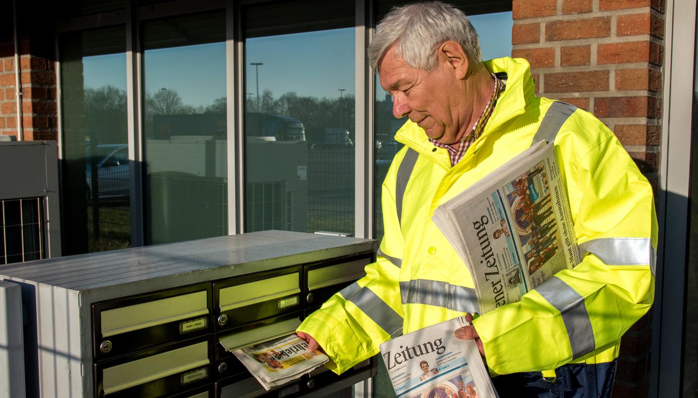 Zusteller (m/w) für Tageszeitungen